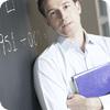 Lärare vid tavla